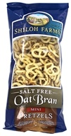 Shiloh Farms - Oat Bran Mini Pretzels Salt Free - 7 oz.