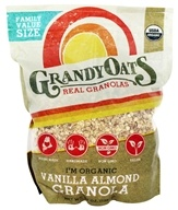 Grandy Oats - Organic Real Granolas Vanilla Almond - 48 oz.