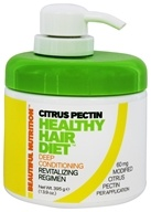Beautiful Nutrition - Healthy Hair Diet Deep Conditioning Citrus Pectin - 13.9 oz.