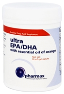Pharmax - Ultra EPA/DHA with Essential Oil of Orange - 90 Softgels