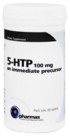 Pharmax - 5-HTP 100 mg. - 60 Tablets