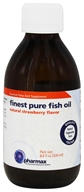 Pharmax - Finest Pure Fish Oil Natural Strawberry Flavor - 6.8 oz.