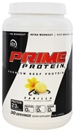SES Nutrition - Prime Protein Premium Beef Protein Vanilla - 2 lbs.