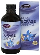 Life-Flo - Pure Borage Seed Oil Cold Pressed - 4 oz.