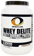 Infinite Labs - Whey Delite Tasty Gourmet Protein Chocolate Chunk - 2 lbs.