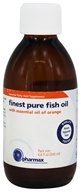 Pharmax - Finest Pure Fish Oil with Essential Oil of Orange - 6.8 oz.