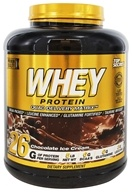 Top Secret Nutrition - Whey Protein Quad Delivery Matrix Chocolate Ice Cream - 5 lbs.