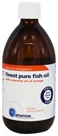 Pharmax - Finest Pure Fish Oil with Essential Oil of Orange - 16.9 oz.