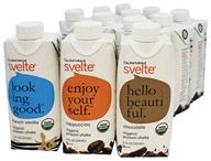 CalNaturale - Svelte Vegan Organic Protein Drink 12 x 11 oz RTD Variety Pack - 12 Pack
