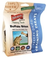 Bravo Pet Foods - Freeze Dried Training Treats Buffalo Bites - 2.5 oz.