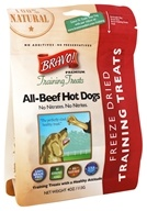 Bravo Pet Foods - Freeze Dried Training Treats All-Beef Hot Dogs - 4 oz.