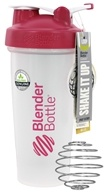 Blender Bottle - Classic Shaker Bottle with Loop Pink - 28 oz. By Sundesa
