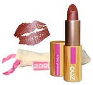 Zao Organic Makeup - Pearly Lipstick Pearly Brown Red 404 - 0.18 oz.