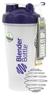 Blender Bottle - Classic Shaker Bottle with Loop Purple - 28 oz. By Sundesa