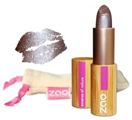Zao Organic Makeup - Pearly Lipstick Pearly Burgandy 406 - 0.18 oz.