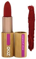 Zao Organic Makeup - Matte Lipstick Red Orange 464 - 0.18 oz.