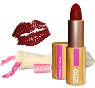 Zao Organic Makeup - Matte Lipstick Dark Red 465 - 0.18 oz.
