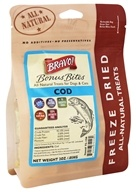 Bravo Pet Foods - Freeze Dried All Natural Treats COD - 2 oz.