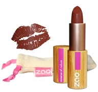 Zao Organic Makeup - Matte Lipstick Chocolate 466 - 0.18 oz. LUCKY PRICE