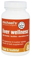 Michael's Naturopathic Programs - Liver Wellness - 90 Vegetarian Tablets