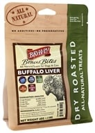 Bravo Pet Foods - Dry Roasted All Natural Treats Buffalo Liver - 4 oz.