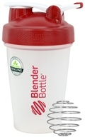 Blender Bottle - Classic Shaker Bottle with Loop Red - 20 oz. By Sundesa