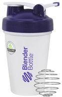 Blender Bottle - Classic Shaker Bottle with Loop Purple - 20 oz. By Sundesa
