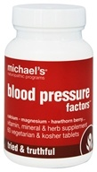 Michael's Naturopathic Programs - Blood Pressure Factors - 60 Vegetarian Tablets