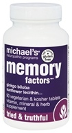 Michael's Naturopathic Programs - Memory Factors - 90 Vegetarian Tablets