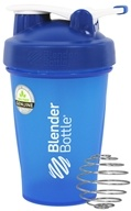 Blender Bottle - Classic Shaker Bottle with Loop Full-Color Blue - 20 oz. By Sundesa