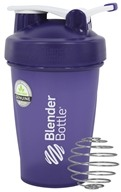 Blender Bottle - Classic Shaker Bottle with Loop Full-Color Purple - 20 oz. By Sundesa