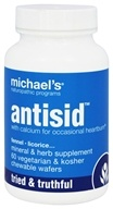 Michael's Naturopathic Programs - Antisid - 60 Chewable Wafers