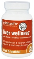 Michael's Naturopathic Programs - Liver Wellness - 60 Vegetarian Tablets