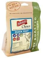 Bravo Pet Foods - Dry Roasted All Natural Treats Duck Feet - 5 oz.