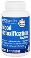 Michael's Naturopathic Programs - Blood Detoxification Factors - 60 Vegetarian Tablets