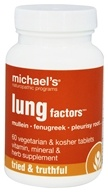 Michael's Naturopathic Programs - Lung Factors - 60 Vegetarian Tablets
