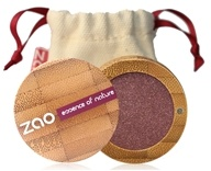 Zao Organic Makeup - Pearly Eye Shadow Pearly Garnet 104 - 0.11 oz.