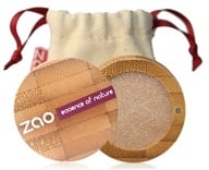 Zao Organic Makeup - Pearly Eye Shadow Golden Sand 105 - 0.11 oz.
