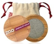 Zao Organic Makeup - Pearly Eye Shadow Pearly Grey Green 108 - ...
