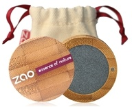 Zao Organic Makeup - Pearly Eye Shadow Metal Grey 110 - 0.11 oz.