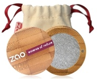 Zao Organic Makeup - Pearly Eye Shadow Silver 114 - 0.11 oz.
