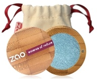 Zao Organic Makeup - Pearly Eye Shadow Peacock Blue 116 - 0.11 oz.