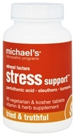Adrenale Faktoren Stress-Unterstützung - 90 Vegetarian Tablets by Michael's Naturopathic Programs