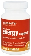 Michael's Naturopathic Programs - Adrenal Xtra Energy Support - 60 Vegetarian Tablets
