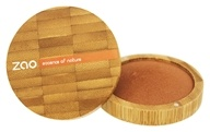 Zao Organic Makeup - Mineral Cooked Powder (Bronzer) Golden Bronze 343 - 0.53 oz.