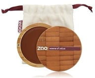 Zao Organic Makeup - Compact Foundation Chocolate 735 - 0.27 oz.