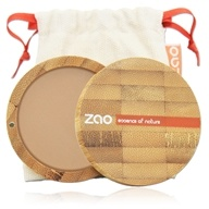Zao Organic Makeup - Compact Powder Beige Orange 302 - 0.32 oz. ...