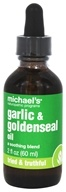 Michael's Naturopathic Programs - Garlic & Goldenseal Oil - 2 oz.