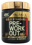 Optimum Nutrition - Gold Standard Pre-Workout Bonus Size Fruit Punch - 360 Grams