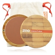 Zao Organic Makeup - Compact Blush Brick Red 324 - 0.32 oz.